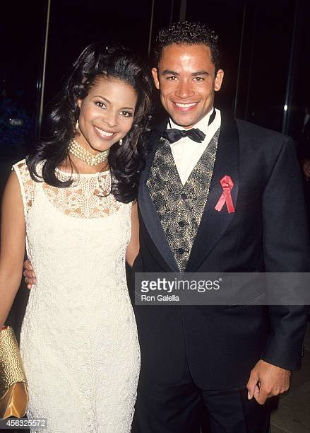 Actress Renee Jones and actor Thyme Lewis attends the 11th Annual Soap Opera Digest Awards on February 17 1995 at the Beverly Hilton Hotel in Beverly...