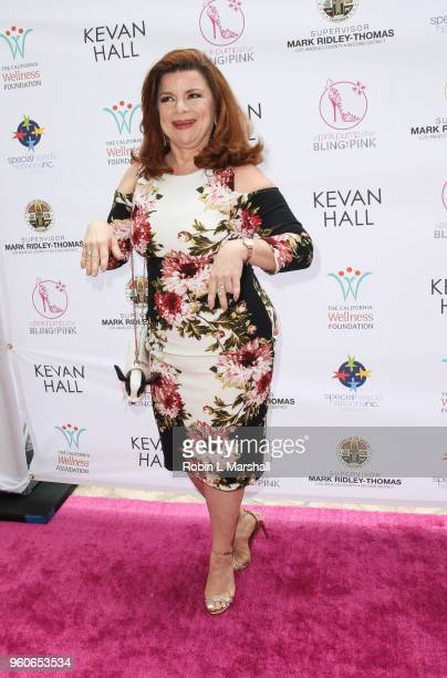 Actress Renee Lawless attends the 10th Annual Pink Pump Affair Charity Gala Fundraiser at The Beverly Hills Hotel on May 20 2018 in Beverly Hills...