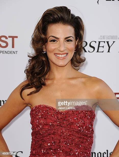 Actress Renee Marino attend the 2014 Los Angeles Film Festival closing night film premiere of 'Jersey Boys' at Premiere House on June 19 2014 in Los...
