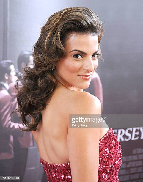 Actress Renee Marino attends the 2014 Los Angeles Film Festival closing night premiere of 'Jersey Boys' at Premiere House on June 19 2014 in Los...