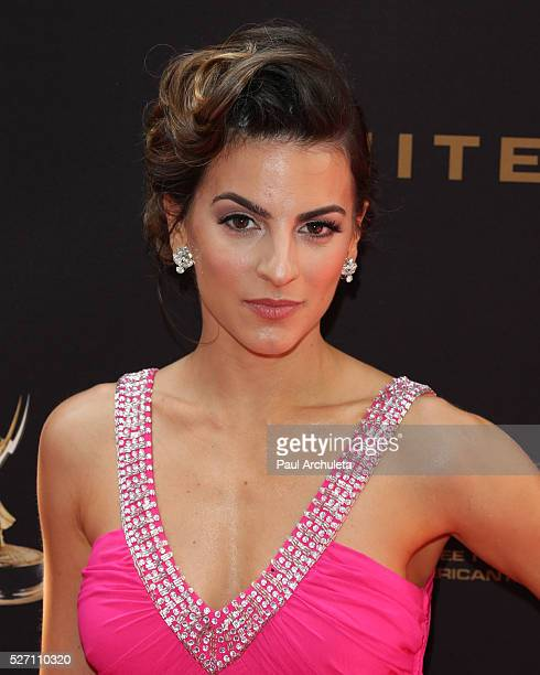 Actress Renee Marino attends the 2016 Daytime Emmy Awards at The Westin Bonaventure Hotel on May 1 2016 in Los Angeles California