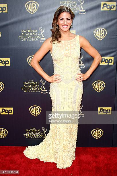 Actress Renee Marino attends the 42nd annual Daytime Emmy Awards held at Warner Bros Studios on April 26 2015 in Burbank California