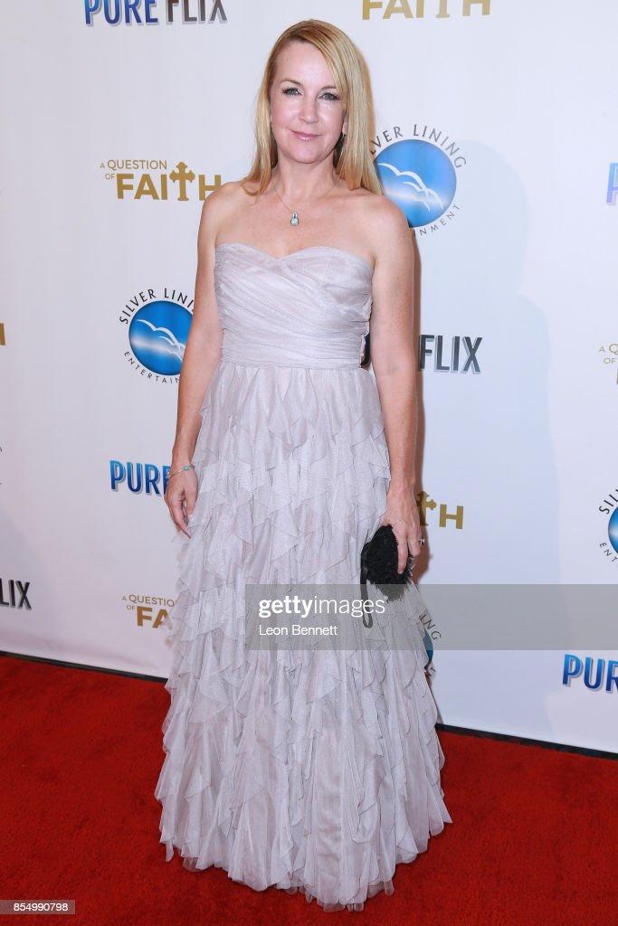 """Premiere Of Pure Flix Entertainment's """"A Question Of Faith"""" - Arrivals : News Photo"""
