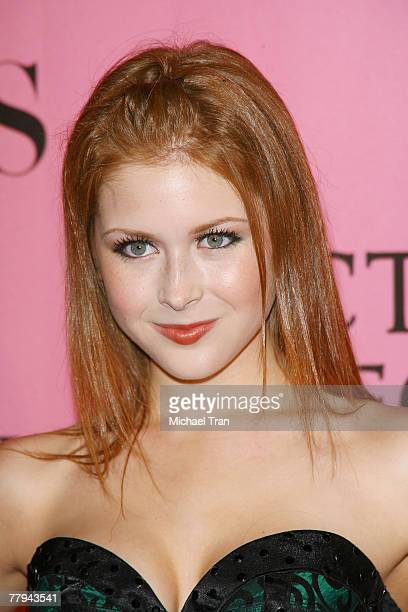 Actress Renee Olstead arrives at The 2007 Victoria's Secret Fashion Show held at Kodak Theater on November 15 2007 in Hollywood California