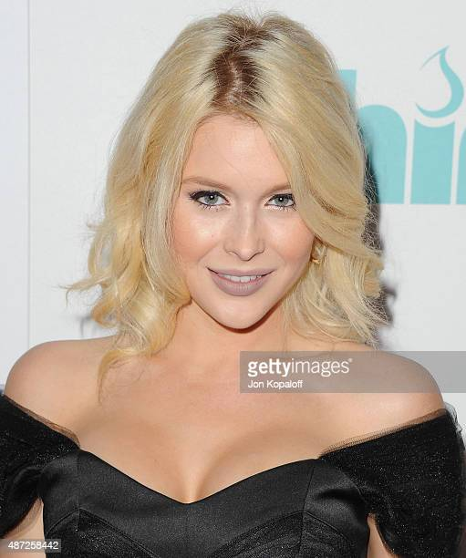 Actress Renee Olstead arrives at the 6th Annual Thirst Gala at The Beverly Hilton Hotel on June 30 2015 in Beverly Hills California