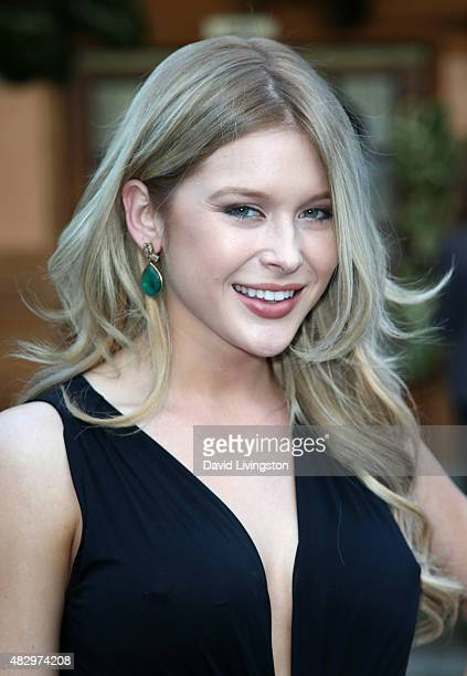 Actress Renee Olstead attends the 2nd Annual Ivy Innovator Film Awards at Smogshoppe on August 4 2015 in Los Angeles California