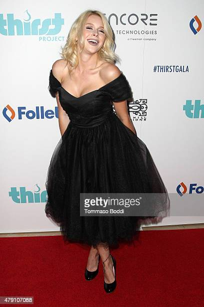 Actress Renee Olstead attends the 6th Annual Thirst Gala held at The Beverly Hilton Hotel on June 30 2015 in Beverly Hills California