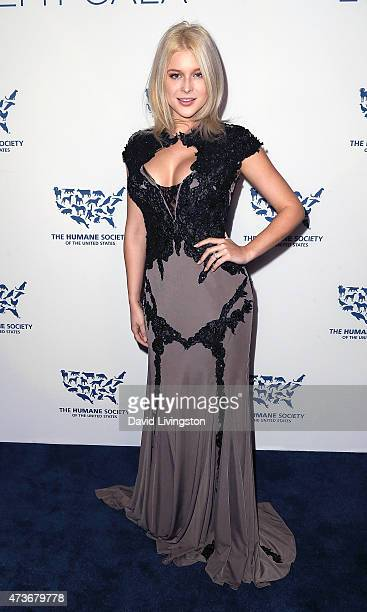 Actress Renee Olstead attends the Humane Society of the United States' Los Angeles Benefit gala at the Regent Beverly Wilshire Hotel on May 16 2015...