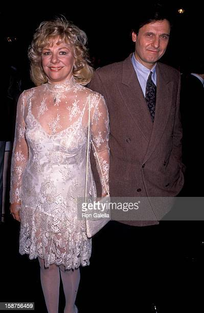 """Actress Renee Taylor and actor Joe Bologna attending the premiere of """"It Had To Be You"""" on October 24, 1989 at the Academy Theater in Beverly Hills,..."""