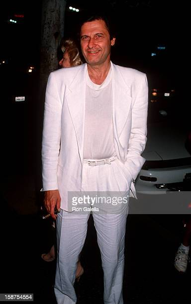 """Actress Renee Taylor and actor Joseph Bologna attending the opening of """"Out There Tonight"""" on August 29, 1990 at the Pantages Theater in Hollywood,..."""