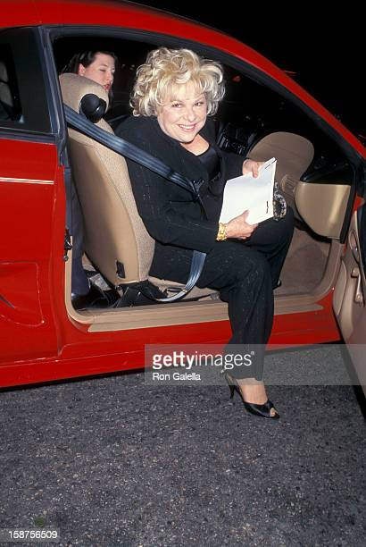 """Actress Renee Taylor and actor Joseph Bologna attending the premiere of """"Love Is All There Is"""" on March 28, 1997 at Laemmle Music Hall in Los..."""
