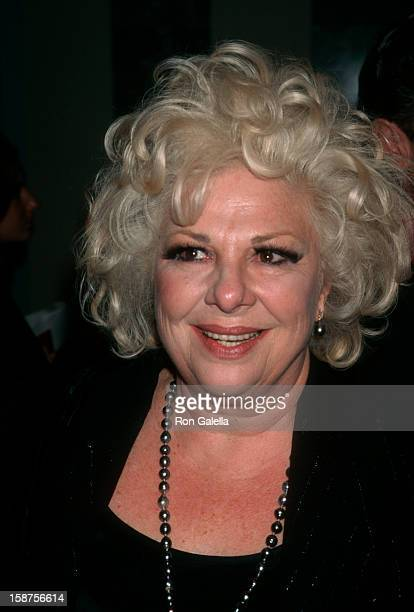 """Actress Renee Taylor attending """"Friar's Club Roast Honoring Danny Aiello"""" on September 26, 1997 at the New York Hilton Hotel in New York City, New..."""