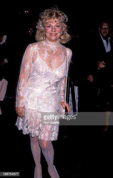 """Actress Renee Taylor attending the premiere of """"It Had To Be You"""" on October 24, 1989 at the Academy Theater in Beverly Hills, California."""