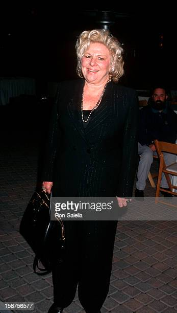 Actress Renee Taylor attending the premiere of 'The Beautician and the Beast' on March 3 1997 at the Paramount Theater in Hollywood California