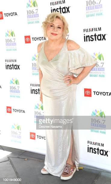 Actress Renee Taylor attends 106.7 LITE FM's Broadway in Bryant Park on July 19, 2018 in New York City.