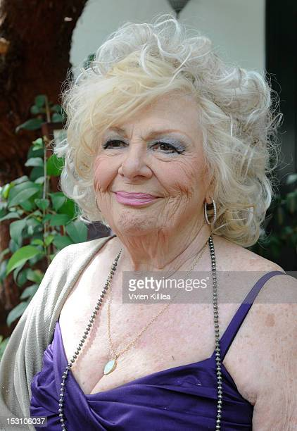Actress Renee Taylor attends the 2nd Annual Celebrity Garden Party Fundraiser Memorabilia Auction For Motion Picture Home Hosted By Renee Taylor And...