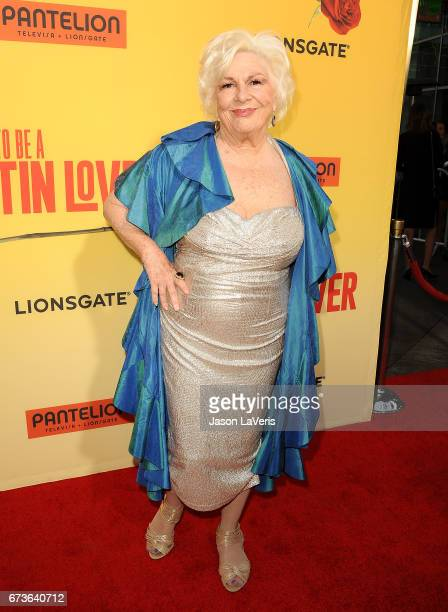 """Actress Renee Taylor attends the premiere of """"How to Be a Latin Lover"""" at ArcLight Cinemas Cinerama Dome on April 26, 2017 in Hollywood, California."""