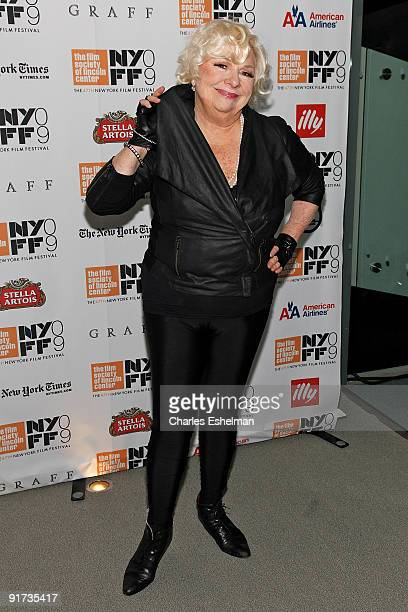 """Actress Renee Taylor attends the premiere of """"Life During Wartime"""" at Alice Tully Hall, Lincoln Center on October 10, 2009 in New York City."""