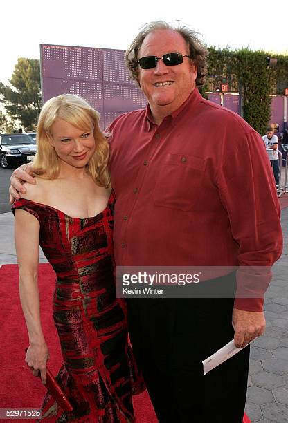 Actress Renee Zellweger and manager John Carrabino arrive at the premiere of Cinderella Man at Gibson Amphitheatre at Universal CityWalk on May 23...