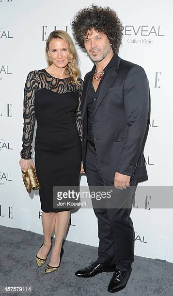 Actress Renee Zellweger and musician Doyle Bramhall arrive at the 21st Annual ELLE Women In Hollywood Awards at Four Seasons Hotel Los Angeles at...