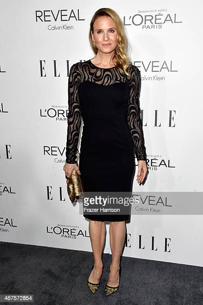 Actress Renee Zellweger arrives at ELLE's 21st Annual Women In Hollywood at Four Seasons Hotel Los Angeles at Beverly Hills on October 20, 2014 in...