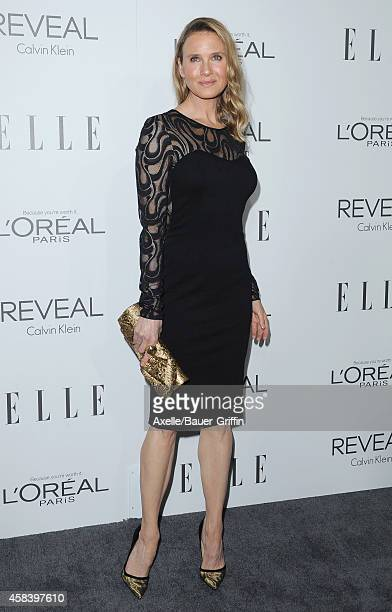 Actress Renee Zellweger arrives at the 21st Annual ELLE Women In Hollywood Awards at Four Seasons Hotel Los Angeles at Beverly Hills on October 20...