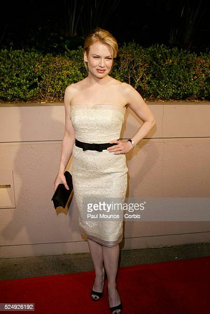 Actress Renee Zellweger arrives at the Miramax PreOscar 2004 Max Awards party at the StRegis Hotel