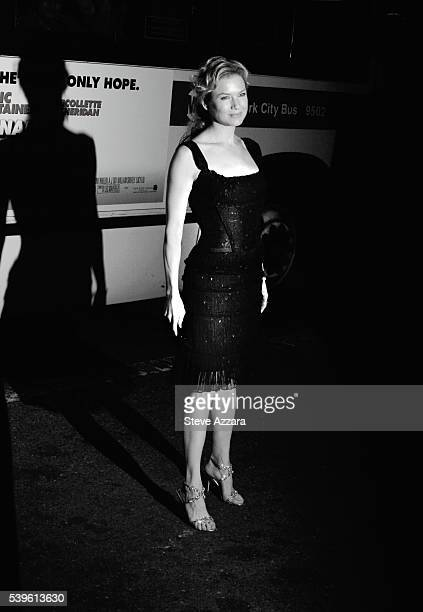 Actress Renee Zellweger arrives to attend the premiere of the film Miss Potter in New York City