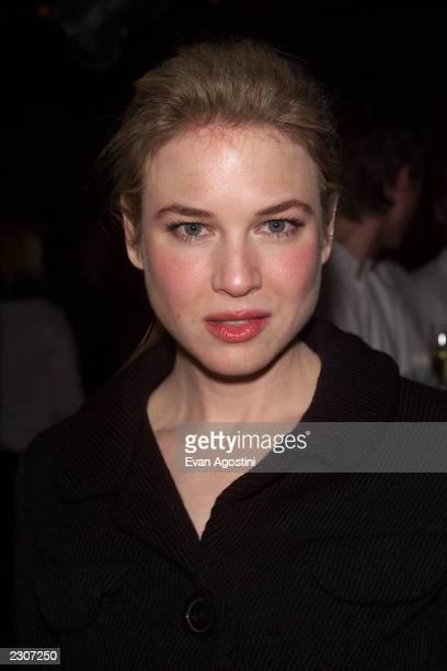 Actress Renee Zellweger at the 'Bridget Jones's Diary' film premiere at the the Ziegfeld Theater in New York City. . Photo: Evan Agostini /...