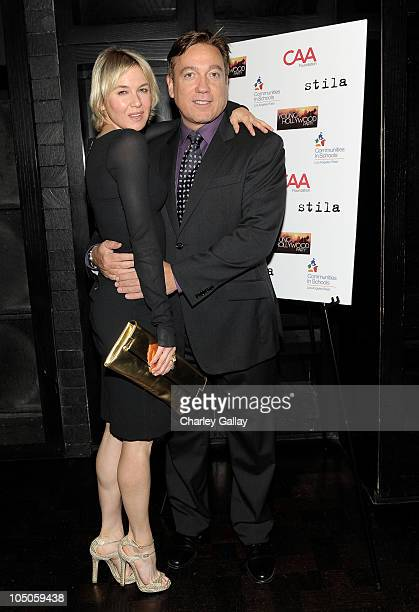 Actress Renee Zellweger attends and CAA Partner Kevin Huvane hosts CAA's Young Hollywood Party Benefitting Communities In Schools Los Angeles West at...