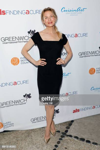 Actress Renee Zellweger attends the 2017 Changemaker Honoree Gala during the Greenwich International Film Festival on June 1 2017 in Greenwich...