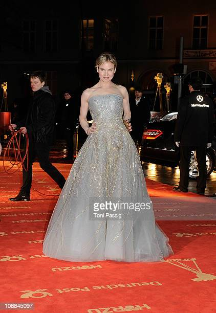 Actress Renee Zellweger attends the 46th Golden Camera awards at the Axel Springer Haus on February 5 2011 in Berlin Germany