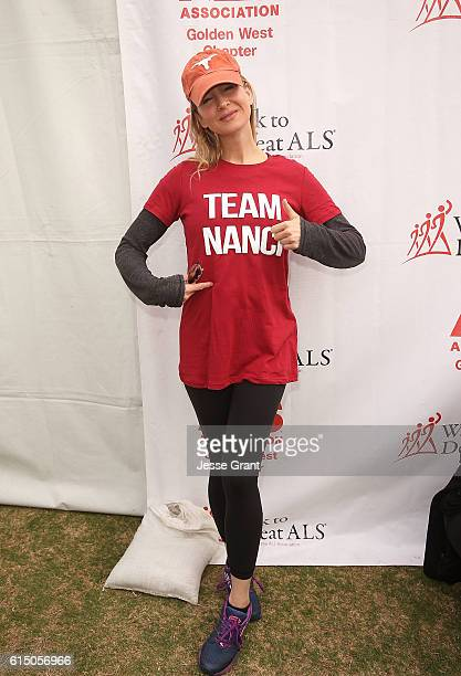 Actress Renee Zellweger attends the ALS Association Golden West Chapter Los Angeles County Walk to Defeat ALS at Exposition Park on October 16 2016...