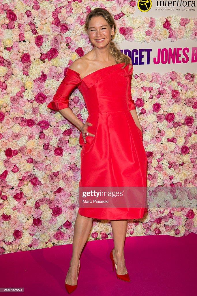 Actress Renee Zellweger attends the 'Bridget Jones Baby ...