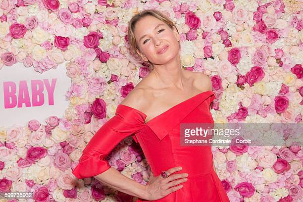 Actress Renee Zellweger attends the Bridget Jones Baby Paris Premiere at the Grand Rex on September 6 2016 in Paris France