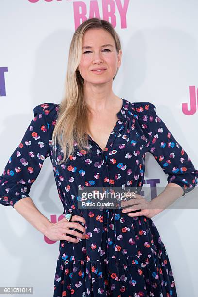 Actress Renee Zellweger attends the Bridget Jones' Baby photocall at Villamagna Hotel on September 9 2016 in Madrid Spain