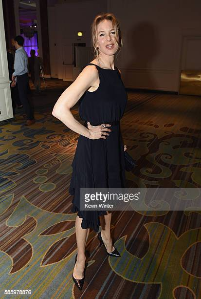 Actress Renee Zellweger attends the Hollywood Foreign Press Association's Grants Banquet at the Beverly Wilshire Four Seasons Hotel on August 4 2016...