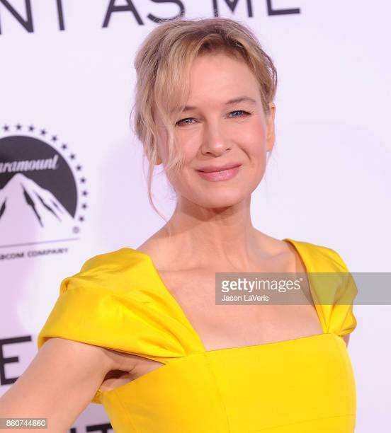 "Actress Renee Zellweger attends the premiere of ""Same Kind of Different as Me"" at Westwood Village Theatre on October 12, 2017 in Westwood,..."