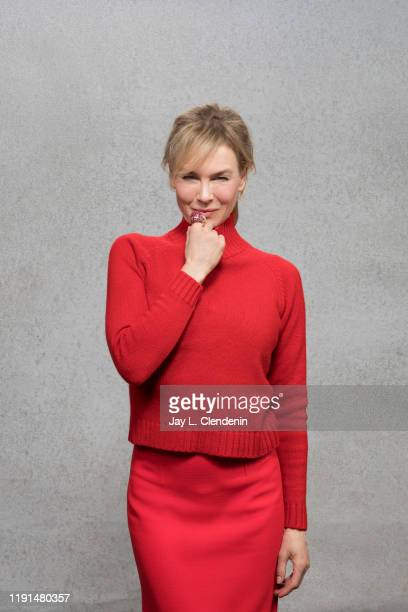 Actress Renee Zellweger is photographed for Los Angeles Times on October 26 2019 in Burbank California PUBLISHED IMAGE CREDIT MUST READ Jay L...