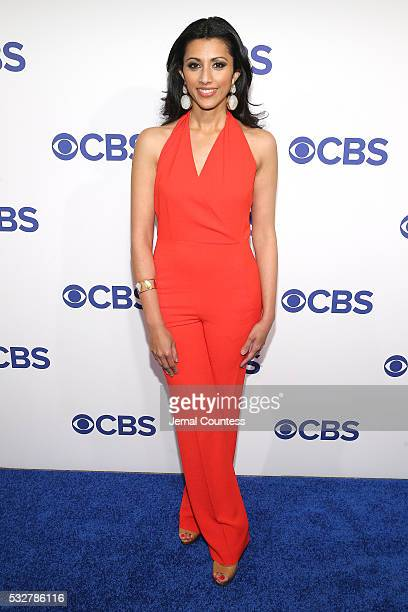Actress Reshma Shetty attends the 2016 CBS Upfront at The Plaza on May 18 2016 in New York City