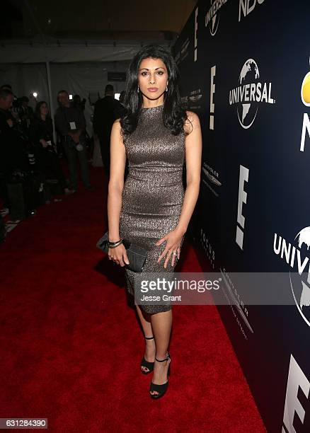 Actress Reshma Shetty attends the Universal NBC Focus Features E Entertainment Golden Globes after party sponsored by Chrysler on January 8 2017 in...