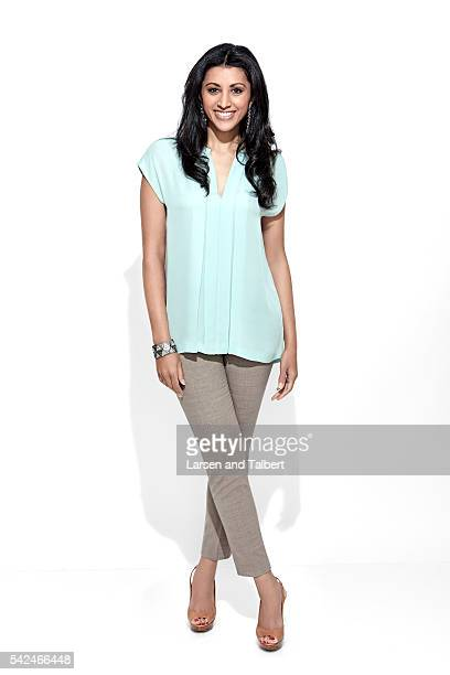 Actress Reshma Shetty is photographed for Entertainment Weekly Magazine at the ATX Television Fesitval on June 10 2016 in Austin Texas