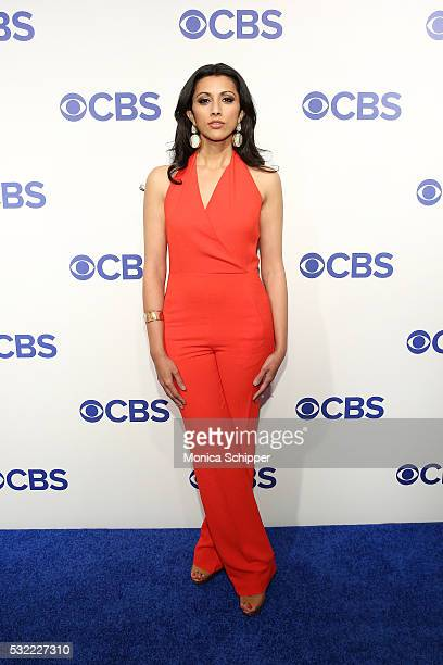 Actress Reshma Shetty of CBS television series Pure Genius attend the 2016 CBS Upfront at Oak Room on May 18 2016 in New York City