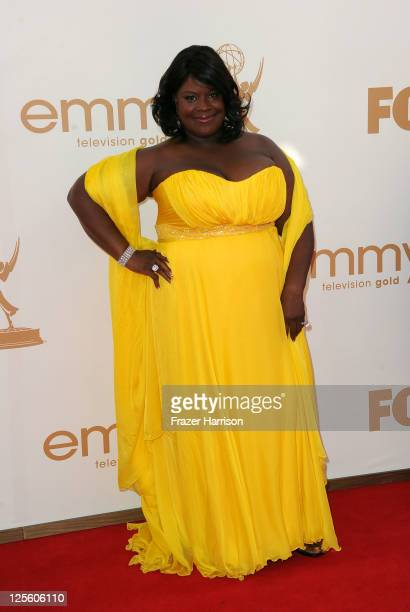 Actress Retta arrives at the 63rd Annual Primetime Emmy Awards held at Nokia Theatre L.A. LIVE on September 18, 2011 in Los Angeles, California.