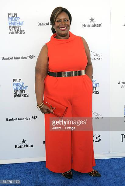 Actress Retta arrives for the 2016 Film Independent Spirit Awards held on February 27 2016 in Santa Monica California