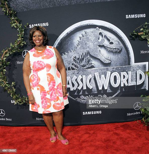 "Actress Retta arrives for the Premiere Of Universal Pictures' ""Jurassic World"" held in the courtyard of Hollywood & Highland on June 9, 2015 in..."