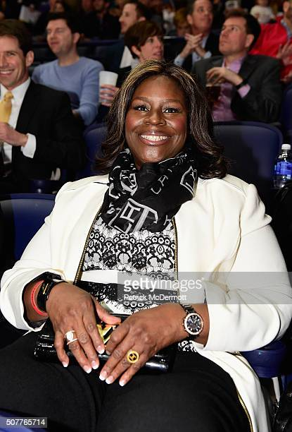 Actress Retta attends the 2016 Honda NHL AllStar Skill Competition as part of the 2016 NHL AllStar Weekend at Bridgestone Arena on January 30 2016 in...