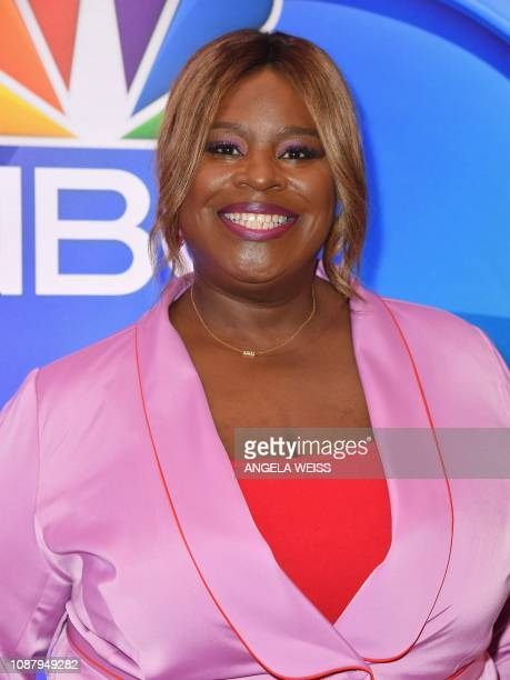 Actress Retta attends the NBC mid-season press junket at The Four Seasons in New York on January 24, 2019.