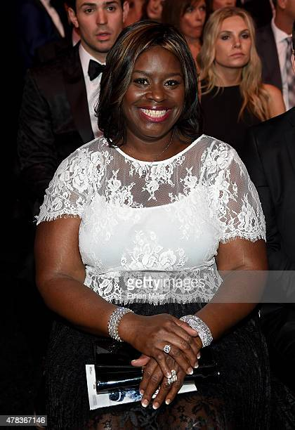 Actress Retta in the audience during the 2015 NHL Awards at MGM Grand Garden Arena on June 24 2015 in Las Vegas Nevada