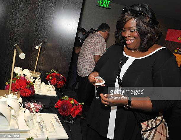 Actress Retta stops by the Helzberg Diamonds INFINITY X INFINITY Collection at the GBK Luxury Lounge during Emmy's Weekend on September 20, 2013 in...